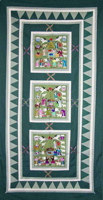 Christmas Hmong Storycloth