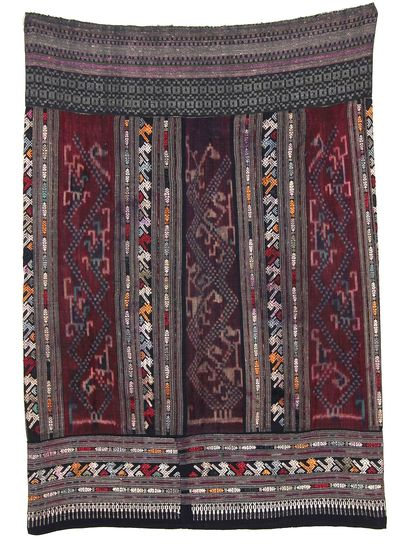 Shaman Skirt with birds-2